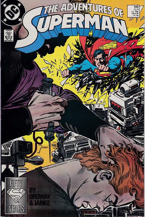 Adventures of Superman 445