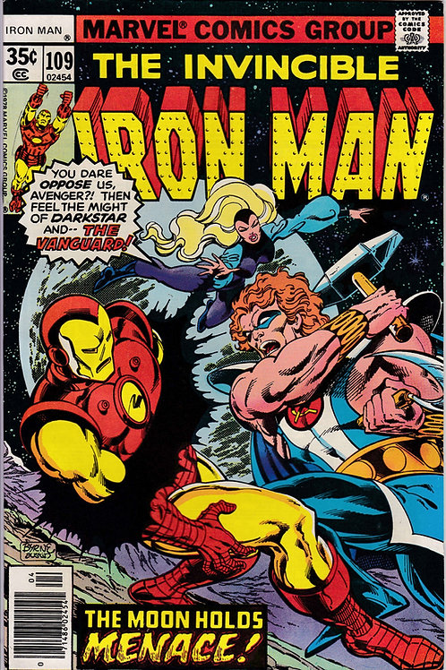 Iron Man 109 1st App New Crimson Dynamo