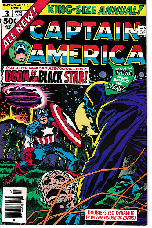 Captain America Annual 3 1976 Thing From the Black Hole Star