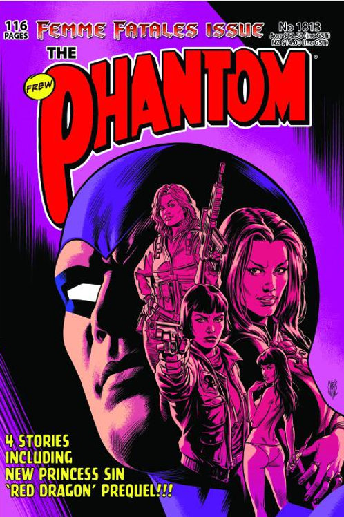 PHANTOM 1813 Femme Fatales Issue Pink