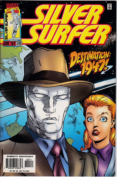 SILVER SURFER 129 Vol 3 Jun 97 Never Read NOS Guests Spider-Man & Daredevil