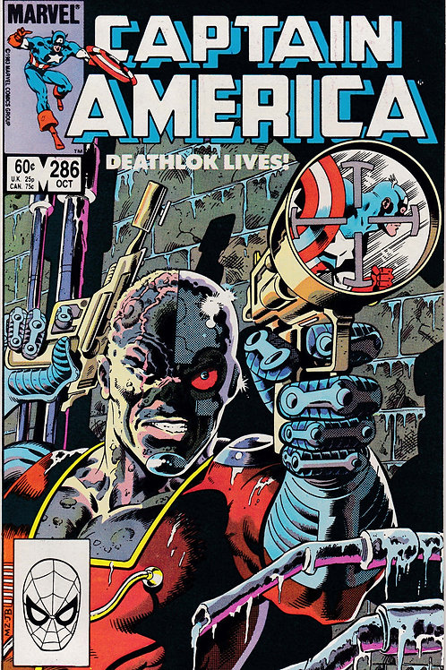 Captain America 286 Deathlok Appearance