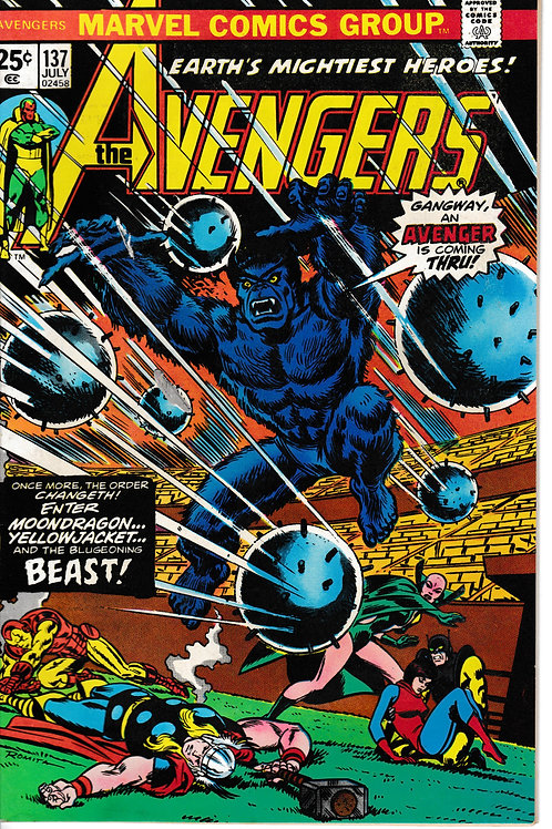 Avengers 137 Jul 75 Seeking out New Avengers