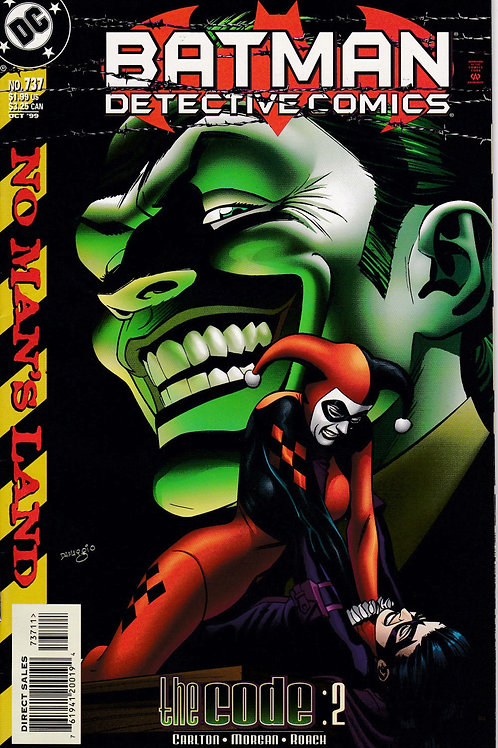 DETECTIVE 737 DC Oct 99 Stock Harley Quinn