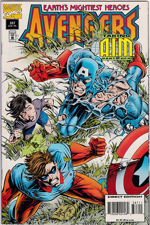 AVENGERS 387 Marvel Vol 1 Jun 95 Taking AIM part 2 of 4