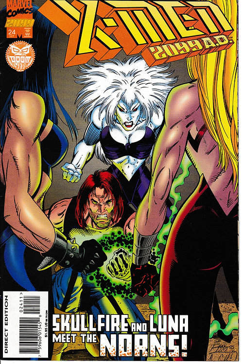 X-MEN 2099 Vol 1 24 Sept 95