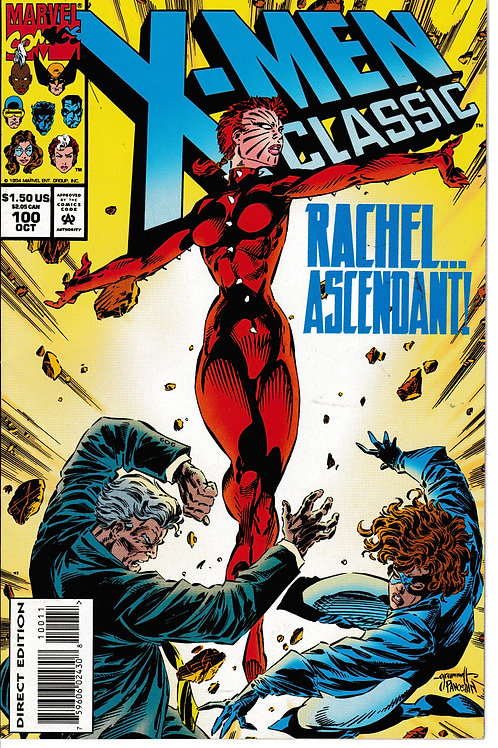 X-Men Classic 100 Oct 94 Kitty Pride Wolverine Rachel Grey