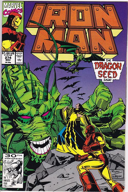 Iron Man 274 Dragon Seed Saga