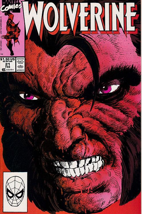Wolverine 21 X-Men Cameo John Byrne Art