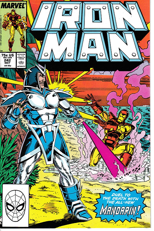 Iron Man 242 Mandarin Appearance