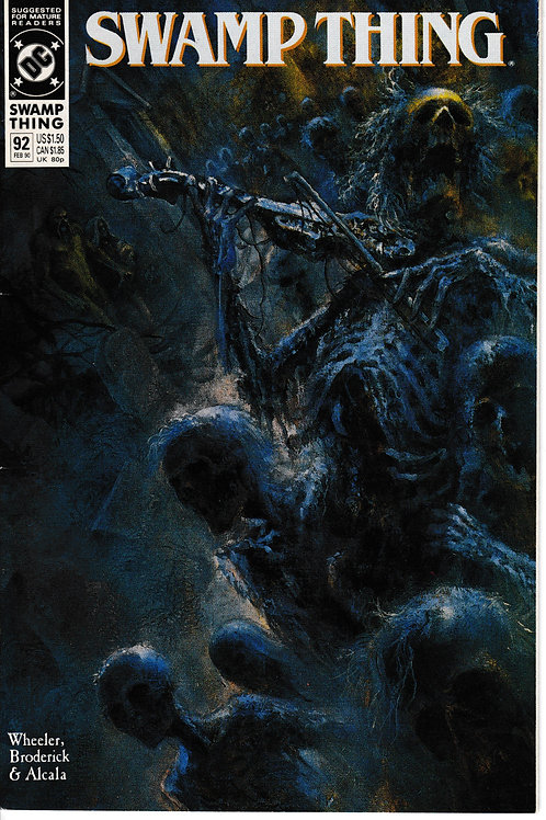 SWAMP THING 92 DC Jun 89 Ghosts in the Bayou