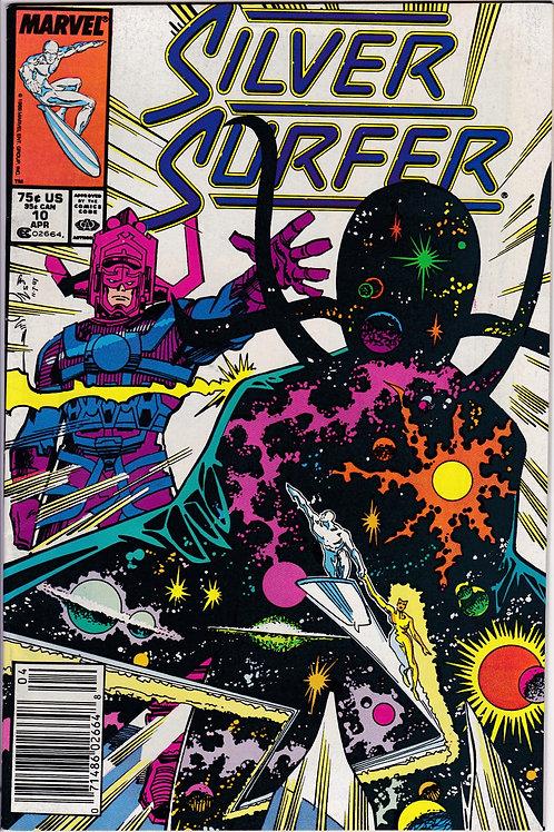 Silver Surfer 10 Galactus Absorbs Enemy