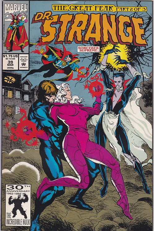 DOCTOR STRANGE SORCERER SUPREME 39 Marvel Mar 92