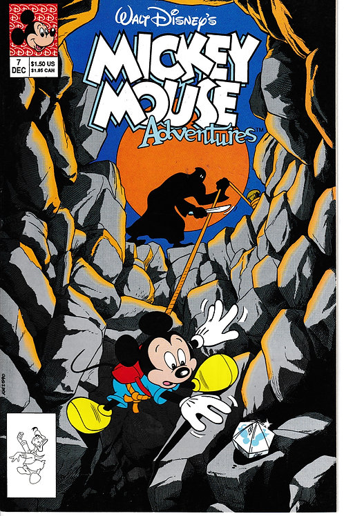 MICKEY MOUSE ADVENTURES 7 Dec 90 Walt Disney The Big Fall