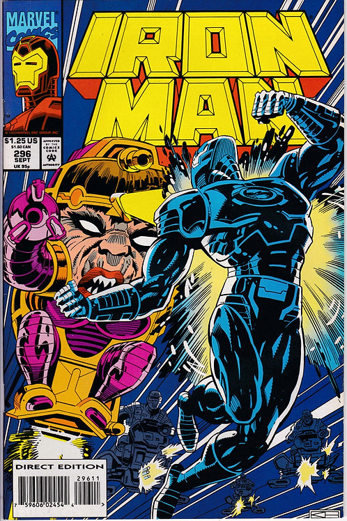 Iron Man 296 Includes in-bound trading card