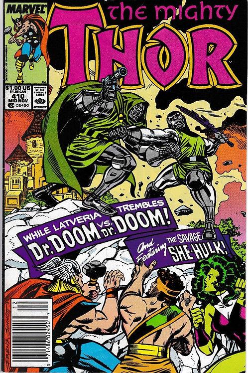 THOR 410 Nov 89 Dr Doom Appearance