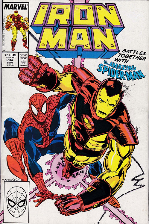 Iron Man 234 Spider-Man X-Over