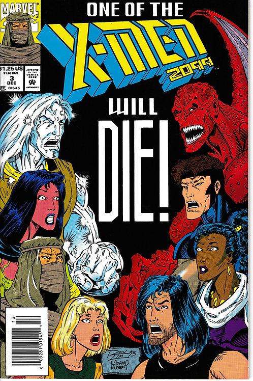 X-MEN 2099 Vol 1 3 Dec 93 X-Men take on the Ratpack