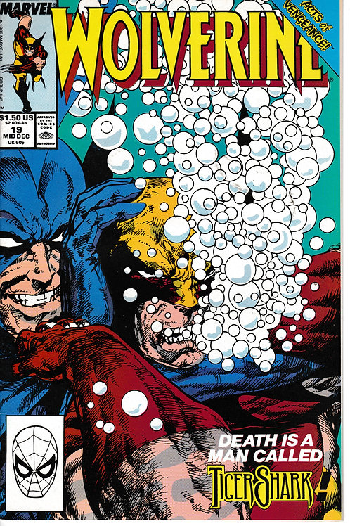 WOLVERINE 19 Marvel Dec 90 Acts of Vengeance Part 3 of 7