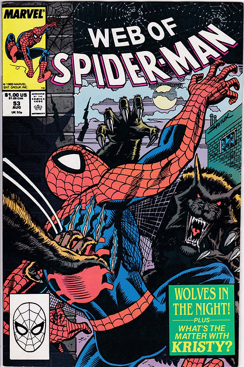 Web of Spider-Man 53