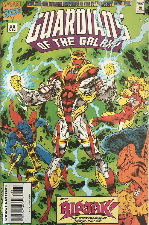 GUARDIANS OF THE GALAXY 55 Marvel Vol 1 Dec 94  Ripjak Debut