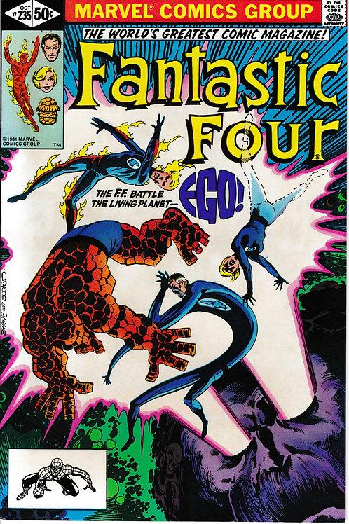 FANTASTIC FOUR 235 Oct 81 John Byrne Story & Art