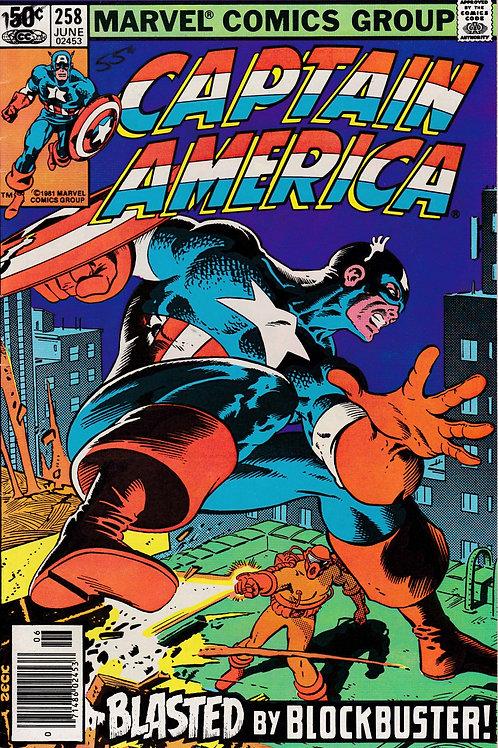 Captain America 258 Chris Claremont Script