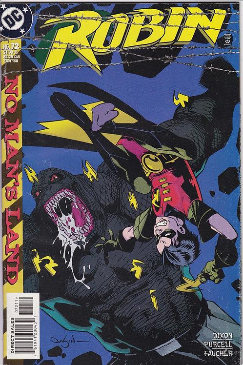 ROBIN 72 Marvel Jan 00 Batman No Man's Land