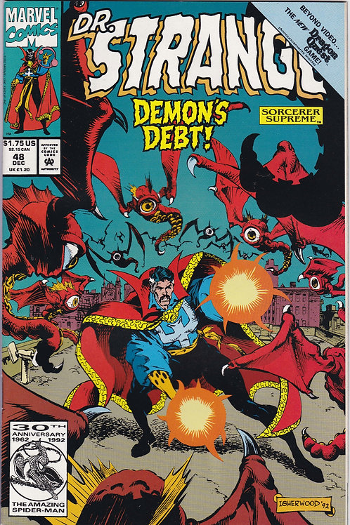 DOCTOR STRANGE SORCERER SUPREME 48 Marvel Dec 92