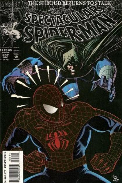 Spectacular Spider-Man 207 Dec 93 Screaming Crimson Pt 1 of 2