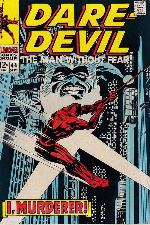 DAREDEVIL 44 Sept 68 Daredevil Verses the Jester.