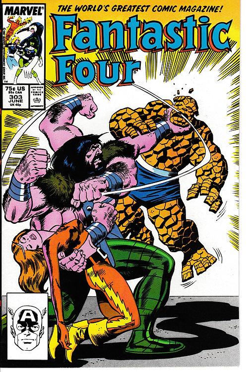FANTASTIC FOUR 303 Jun 87 Marvel