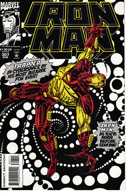IRON MAN 307 Aug 94  Wired Part 1 of 3