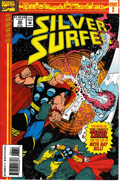 SILVER SURFER 86 Marvel Vol 3 Nov 93 Blood & Thunder Part 2