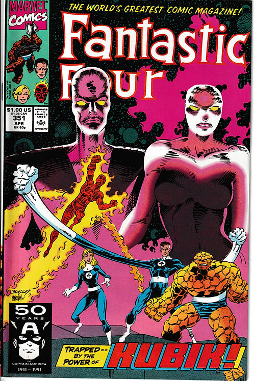 FANTASTIC FOUR 351 Apr 91 Strange Interlude