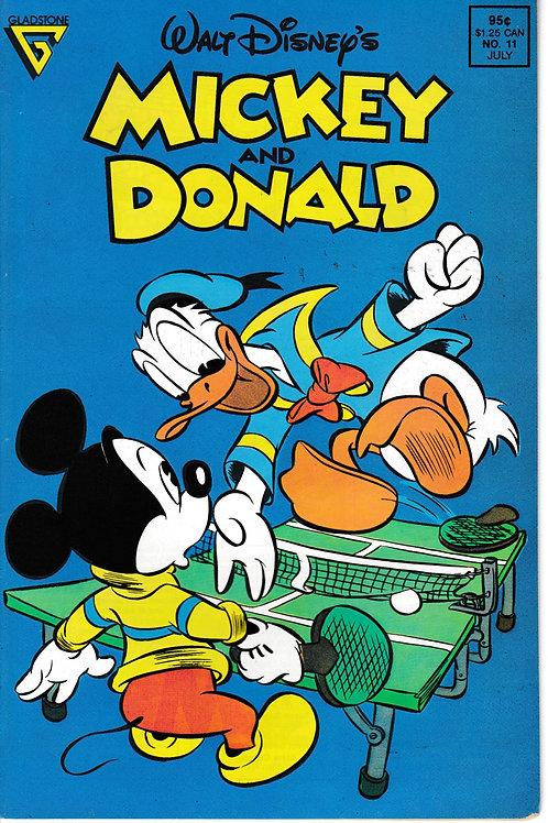 Walt Disney's Mickey & Donald 11 Jul 89 Picnic Pests Carl Barks Story & Art