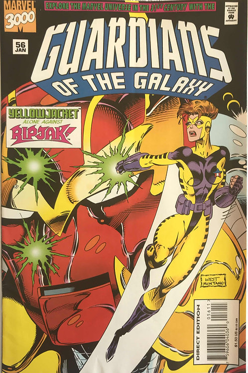 GUARDIANS OF THE GALAXY 56 Marvel Vol 1 Jan 95 Ripjak Vs Yellowjacket