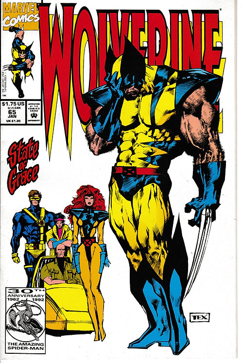 WOLVERINE 65 Man 93 New Old Stock Guest-starring X-Men. Nick Fury Cameo