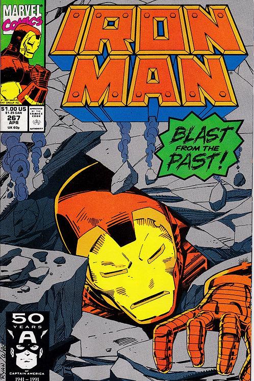 Iron Man 267 Tony Stark Expands Origin