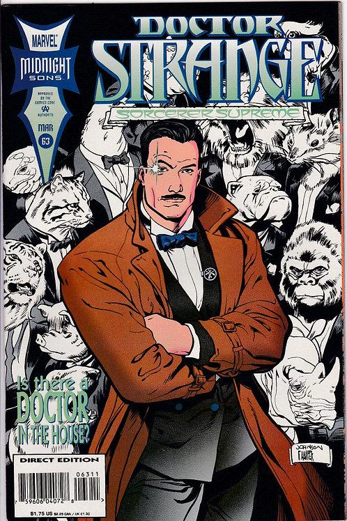 DOCTOR STRANGE SORCERER SUPREME 63 Marvel Mar 94