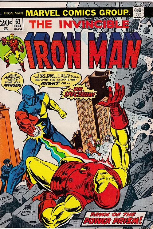 Iron Man 63 Oct 73 Enter Doctor Spectrum
