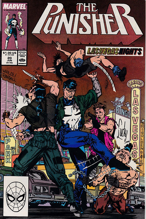 PUNISHER 20 Vol 2 Jun 89 Marvel N/M-