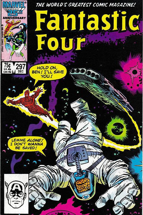 FANTASTIC FOUR 297 Dec 86 Set the Controls for the Heart of the Sun Part 1