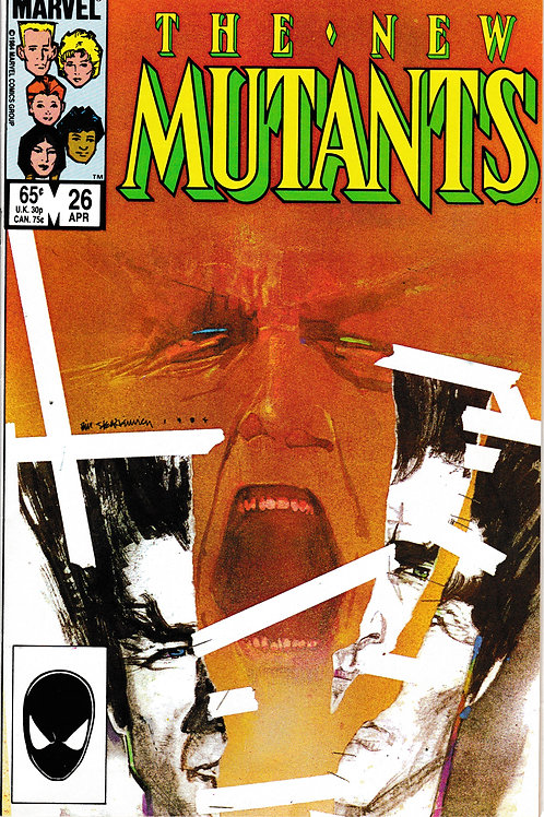 NEW MUTANTS 26 Marvel Apr 85 1st Full App Legion