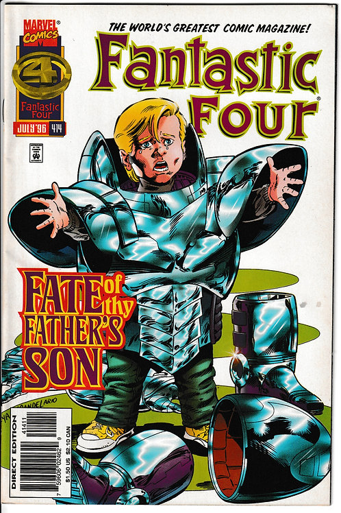 FANTASTIC FOUR 416 Mar 96 Onslaught Phase 1