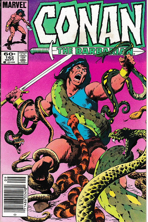 CONAN THE BARBARIAN 162 Marvel Sep 84 Cover Pencils Inks John Buscema