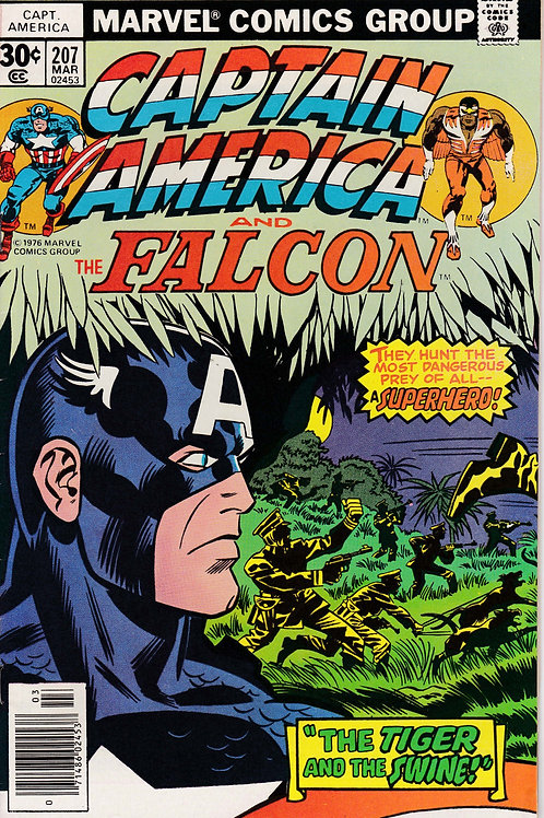 Captain America 207 Jack Kirby Script & Art