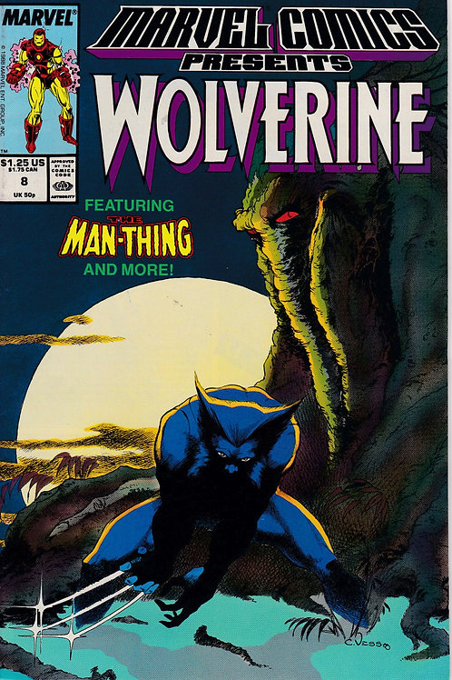 Marvel Comics Presents Wolverine 8 Man Thing