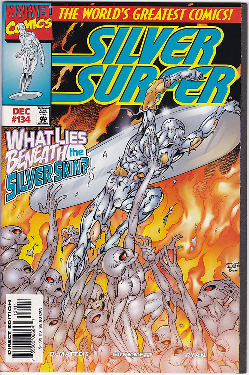 SILVER SURFER 134 Vol 3 Dec 97 NM Never Read New Old Stock