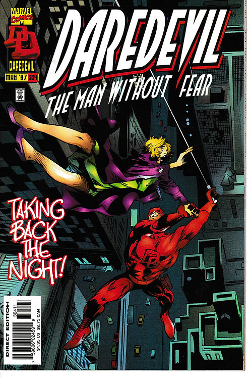 DAREDEVIL 364 May 97 Mr Fear Appearance